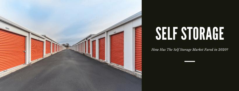 Self Storage Financing in 2020